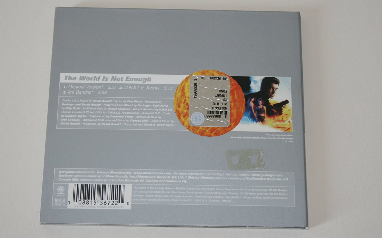 Italy, 155 672 2, CD