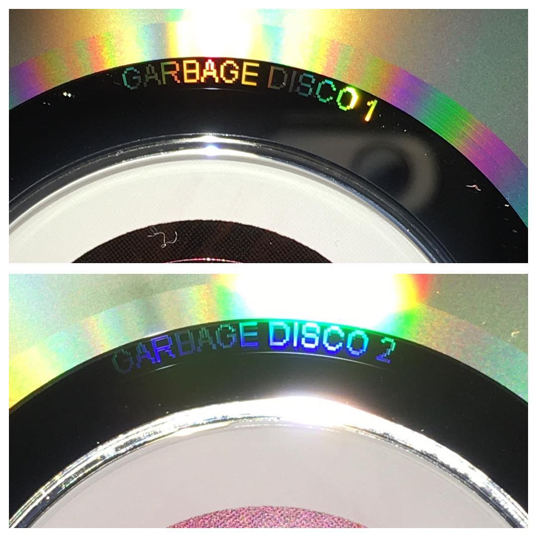 Garbage Disco 1 and Garbage Disco 2